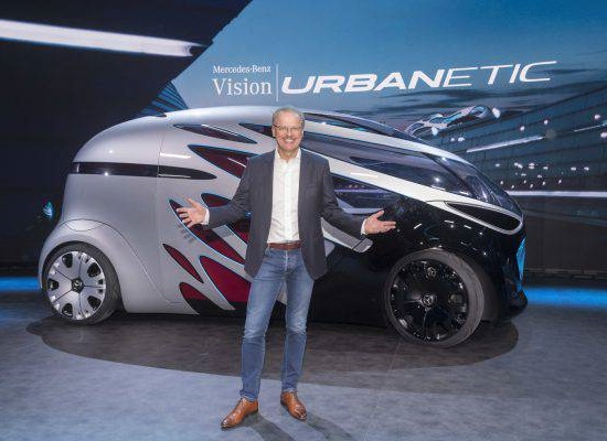 Презентация Mercedes-Benz Vision Urbanetic