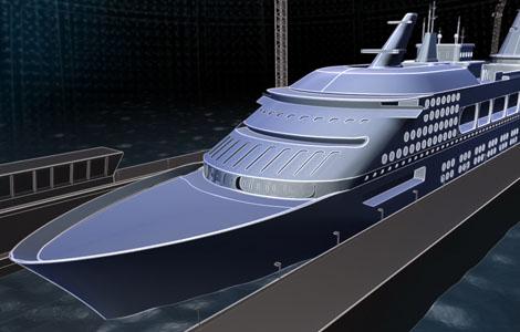 New technical  typical constructions of a ships. Есть принципиальные схемы новых кораблей, суперъяхты по новой технологии